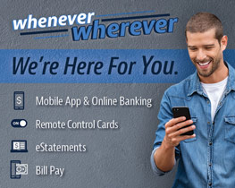 Image of a young guy using his smart phone with text reading: