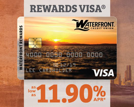 Rewards Visa ~ as low as 11.90% APR*